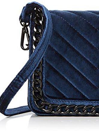 Navy Desigual Bols/_cuenca Metal Splatter femme U 16.5x30.5x37.3 cm 5000 b x h t Bleu