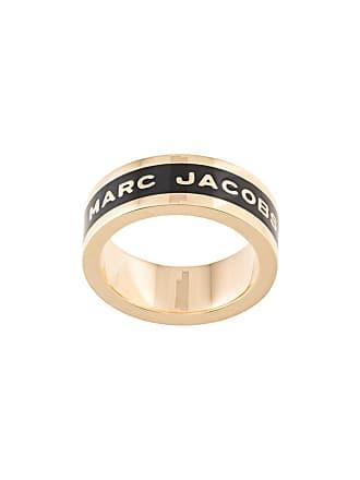 Marc Jacobs logo band ring - Black