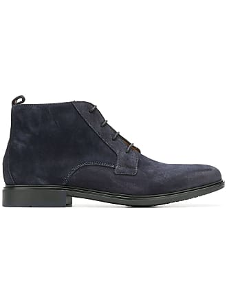 Tommy Hilfiger Ankle boot de couro - Azul