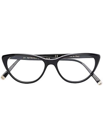 Retro Superfuture lunettes SUPER BY RETROSUPERFUTUR à monture papillon -  Noir 0ceaf5b3baa8
