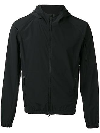 Aspesi zipped hooded jacket - Black