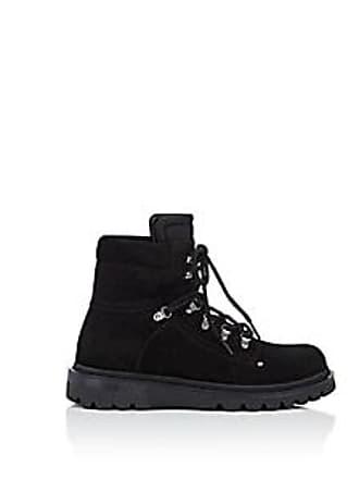 Moncler Mens Egide Suede Hiking Boots - Black Size 7 M