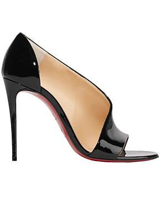 920fa4985733f Christian Louboutin Christian Louboutin Woman Phoebe 100 Patent-leather  Pumps Black Size 37.5