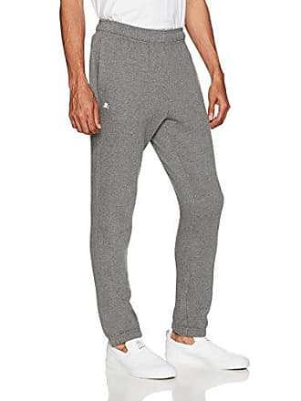 0e55dae087b674 Starter Mens Elastic-Bottom Sweatpants with Pockets, Amazon Exclusive, Iron  Grey Heather,