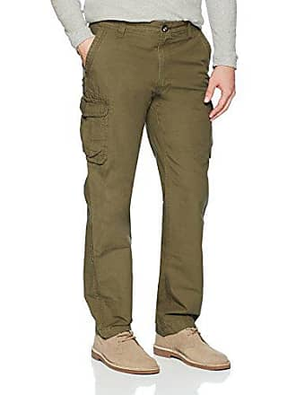 G.H. Bass & Co. Mens Jack Mountain Cargo Pant, Olive Night, 30W X 32L