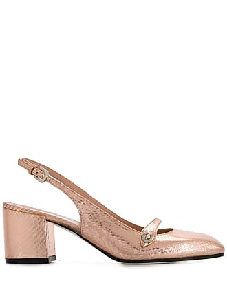 Pollini slingback block heel pumps - Pink