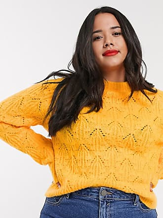 Urban Bliss high neck jumper-Orange