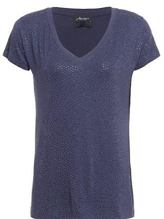 J. Chermann T-shirt 10 Aplicações J. CHERMANN - Azul