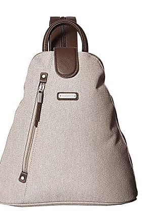 Baggallini Metro Backpack with RFID Phone Wristlet (Champagne Shimmer) Backpack Bags