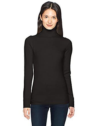 0e57fe94aad French Connection Womens Babysoft Turtleneck Sweater, Black, S