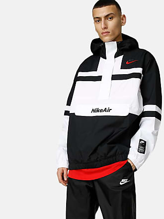 Nike Eco Down Just Do It polka dot coach jacket in blackwhite