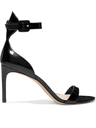 c1fd8d003f1 Sophia Webster Nicole Patent-leather Sandals - Black