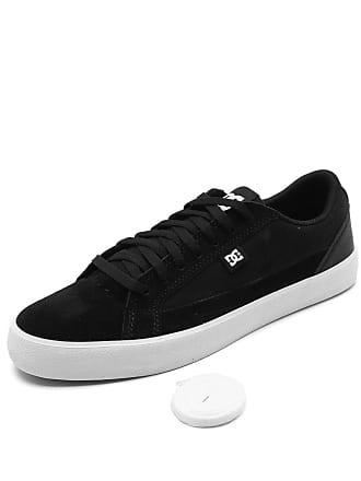 DC Tênis Couro DC Shoes Lynnfield Preto