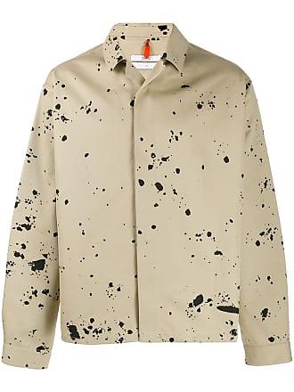OAMC paint splatter effect jacket - Neutrals
