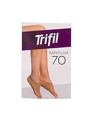 Trifil Meia Trifil Sapatilha Fio 70 Preto T Un