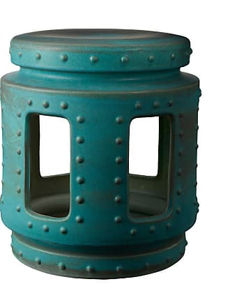 Dimond Home ELK Home Signature Throne Stool in Turquoise