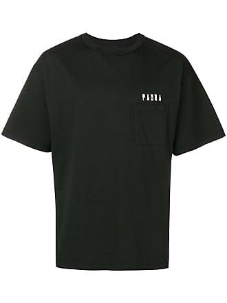 Paura Camiseta com logo - Preto