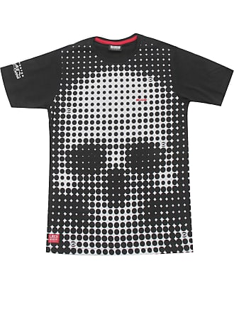 Gangster Camiseta Gangster Menino Frontal Preta
