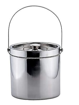 Old Dutch International Double-Walled Ice Bucket, Large, Stainless Steel