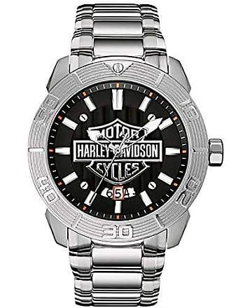 Bulova Relógio Masculino Bulova Harley Davidson WH30546T Prata