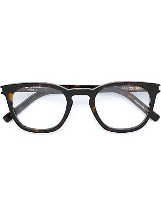 Saint Laurent Eyewear Óculos tartaruga - Marrom