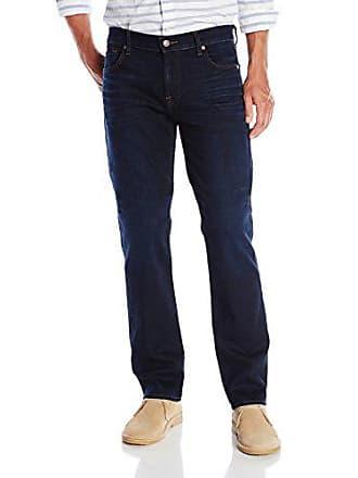 7 For All Mankind Mens Standard Classic Straight Leg Jean In Midnight Indigo, 33