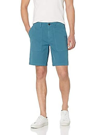 Goodthreads Mens 9 Inseam Porkchop Pocket Stretch Canvas Short, Teal, 30