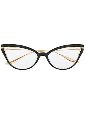 Dita Eyewear Armação de óculos gatinho Artcal - Preto