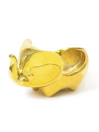 Jonathan Adler Messing Elefant Ring Schüssel - Gold