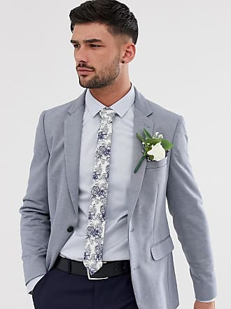 Burton Menswear jersey blazer in light blue