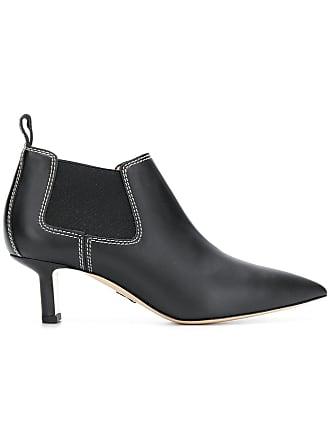 PAUL ANDREW Ankle boot Ana de couro - Preto
