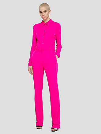 Msgm flare pants in viscose