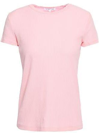 71e0d54418af05 Helmut Lang Helmut Lang Woman Ribbed Cotton-jersey Tank Baby Pink Size XS