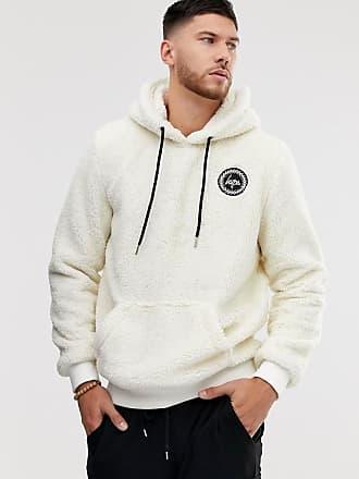 Hype sherpa hoodie-White