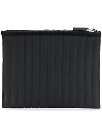 No Ka'Oi striped quilt purse - Black