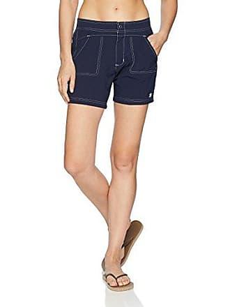 ZeroXposur Womens Sporty Stretch Woven Hybrid Short Bottom, Midnight, 8
