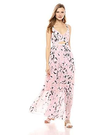 412da5bfc497 Rachel Roy Rachel Rachel Roy Womens Sleeveless V-Neck Tiered Chiffon Maxi  Dress, Blush