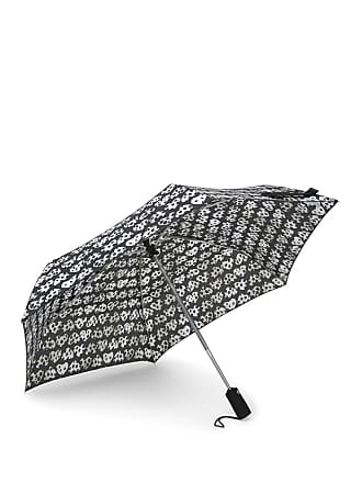 Betsey Johnson Leopard Patterned Auto Open & Close Umbrella