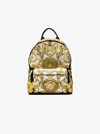 a017cdd7a1 Versace multicoloured Baroque Medusa print backpack
