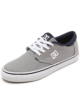 DC Tênis DC Shoes Plaza Lite Cinza