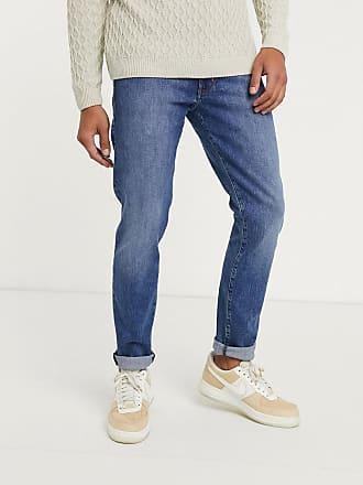 Wrangler Larston - Jeans slim affusolati-Navy