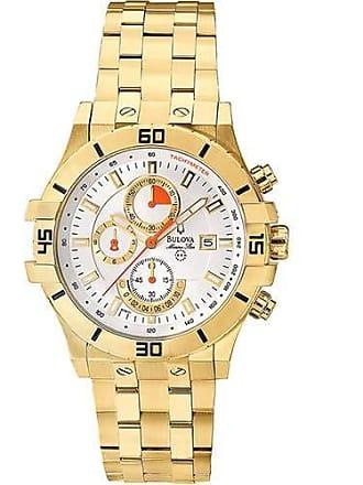 Bulova Relógio Masculino Bulova Analógico Wb30999h - Dourado