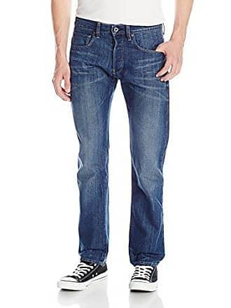 G-Star Mens Attacc Slim Straight Leg Jean In Duke Denim Medum Aged, Medium Aged, 33x30