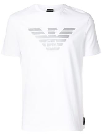Emporio Armani logo T-shirt - White