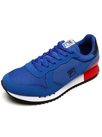 12c987ebb4b Frete  grátis. Fila Tênis Fila Retro Runner Azul