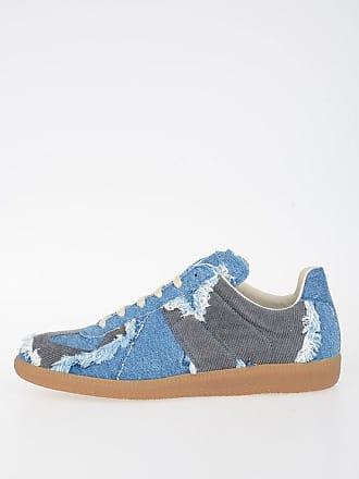 Maison Margiela MM22 Velvet Denim Sneakers size 40