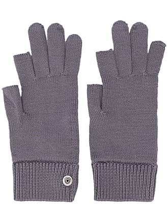 Rick Owens knitted gloves - Azul