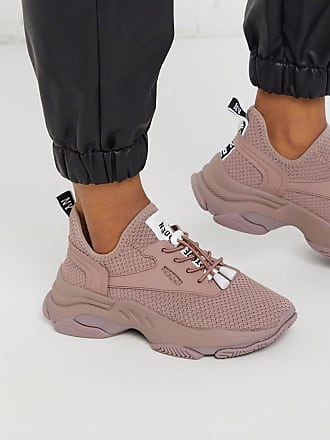 Steve Madden Match pink chunky trainers