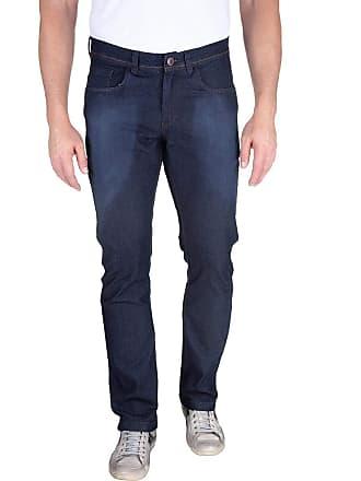 Colombo Calça Jeans Masculina Azul Lisa 49583 Colombo