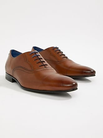 Ted Baker Murain oxford shoes in tan leather - Tan